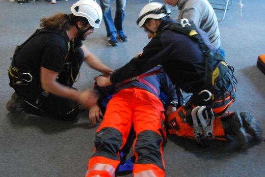 GWO First Aid Übung