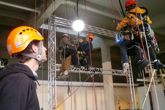 PSA Rettungsübung Traineraufsicht