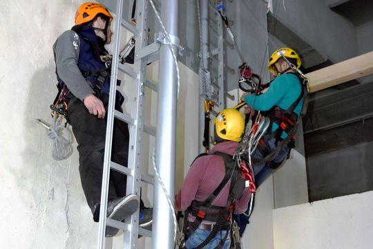 PSA Training Steigleiter