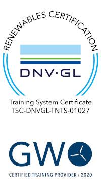 Logo DNVGL GWO 2020